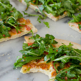 White Arugula Pizza for Two