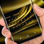 Gold Keyboard Luxury Silk Golden Light