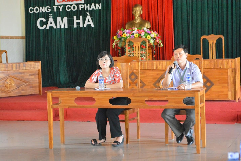 Ông Nguyễn Huy Hoàng - Giám đốc Công ty cổ phần Cẩm Hà