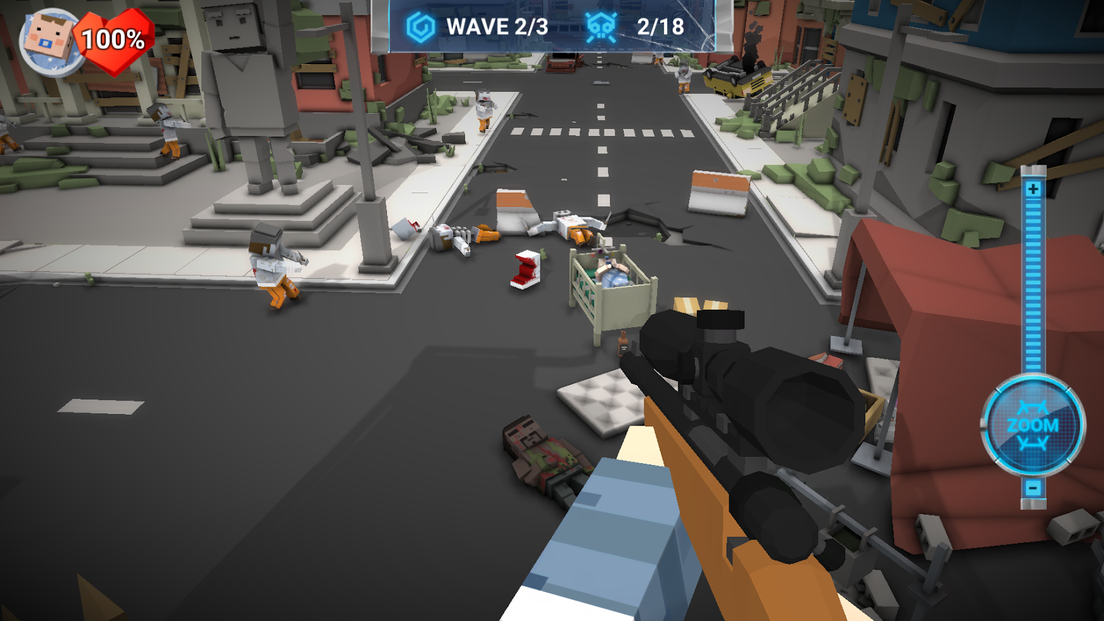 The Walking Zombie: Dead city- screenshot