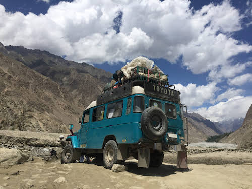 Travel Guide to the Hushe Valley // Jamil Jeep from Khaplu to Hushe