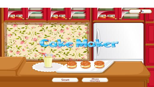 蛋糕制造者:烹饪游戏