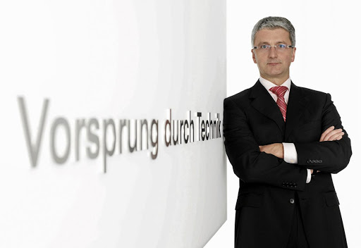 Audi boss Rupert Stadler. Picture: Newspress UK