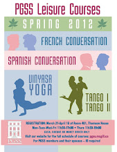 Photo: Poster for spring leisure courses