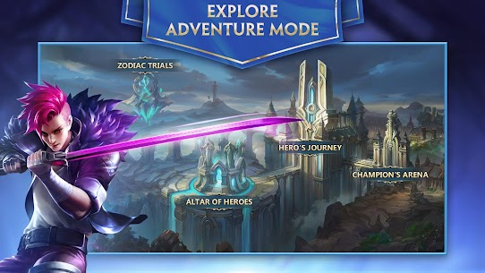 Heroes Evolved Mod Apk Download For Android and Iphone 5