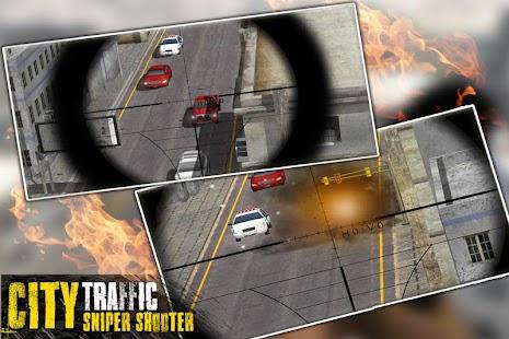 3D City Traffic Sniper Shooter - náhled