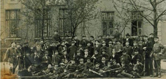 Gruppenbild «Rote Ruhrarmee».