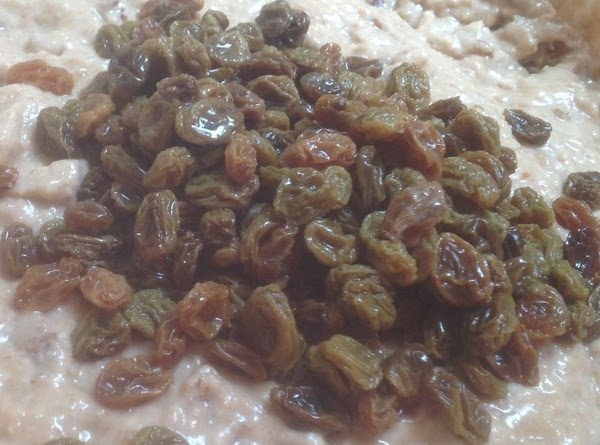 Add raisins to a small bowl, cover with water then wrap bowl with saran...