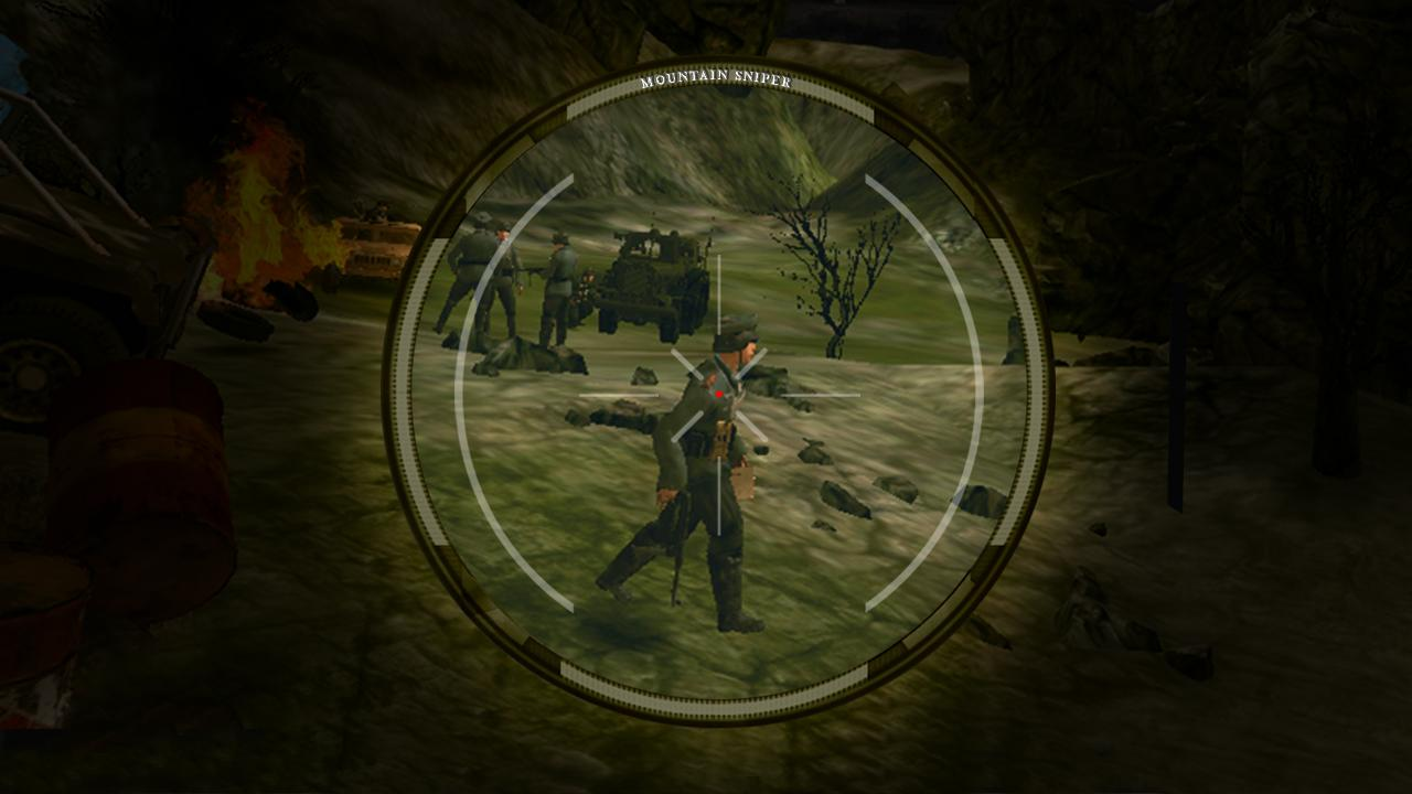 Mountain Sniper Shooting 3D- screenshot