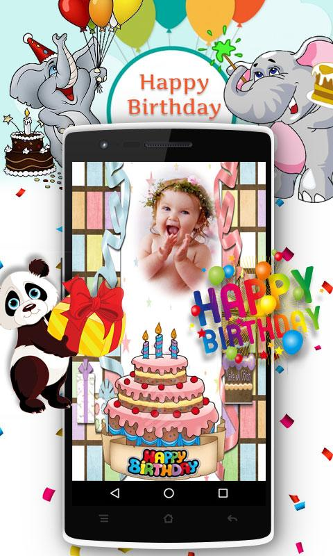Birthday Photo Maker- screenshot