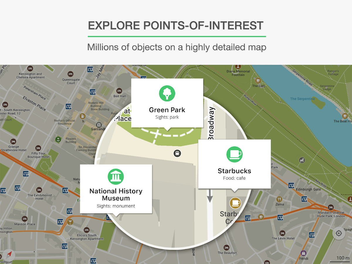MAPS.ME – Map with Navigation and Directions- screenshot