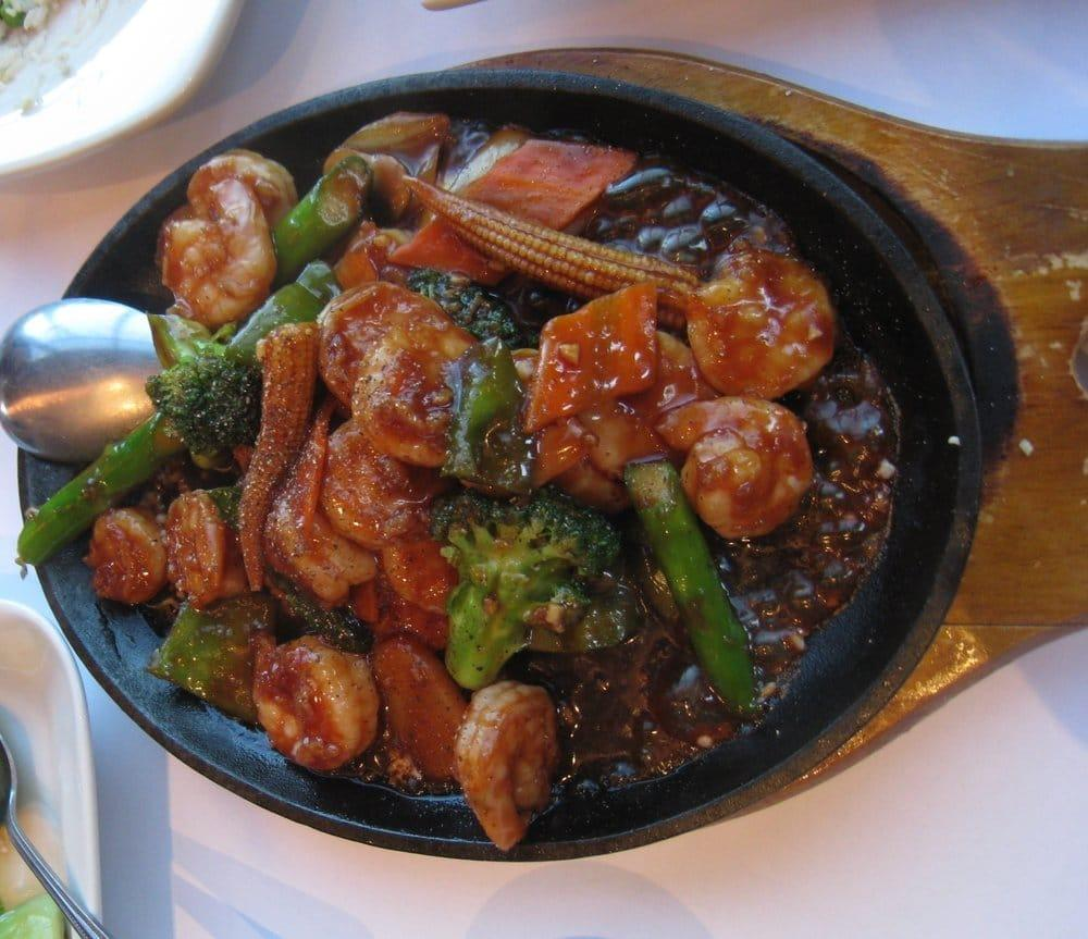 Photo of Chef Chao Restaurant - Moraga, CA, United States. teppan sizzing seafood platter