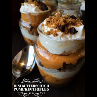 Mini Butterscotch Pumpkin Trifles