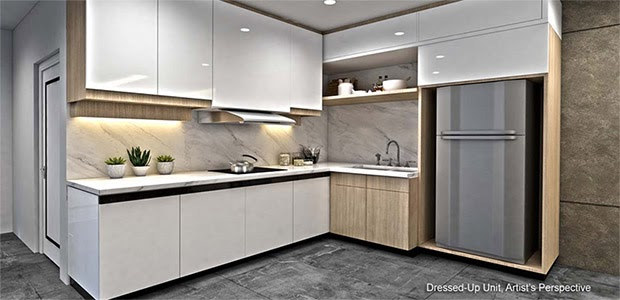 Gold Residences, Paranaque kitchen