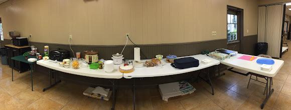 Photo: Community supper fixings....