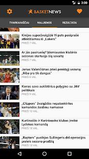 BasketNews - náhled