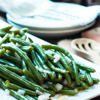 Red Wine Vinegar Green Beans Recipes