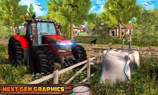 Code Triche Khakassia Organic Tractor Farming Simulator 2019 mod apk screenshots 5