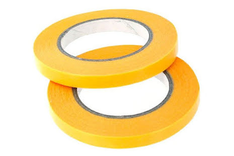 PRECISION MASKING TAPE 6MMX18M - TWIN PACK