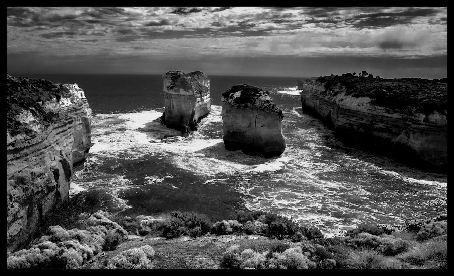 Great Ocean Road by Mark Hundt - Landscapes Caves & Formations (  )