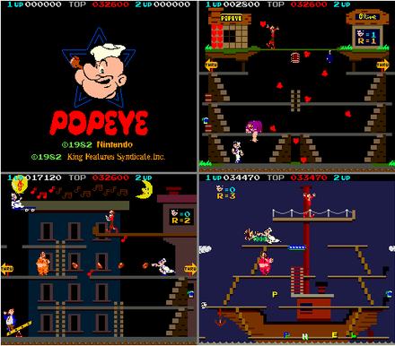 Popeye  captures d'écran 2