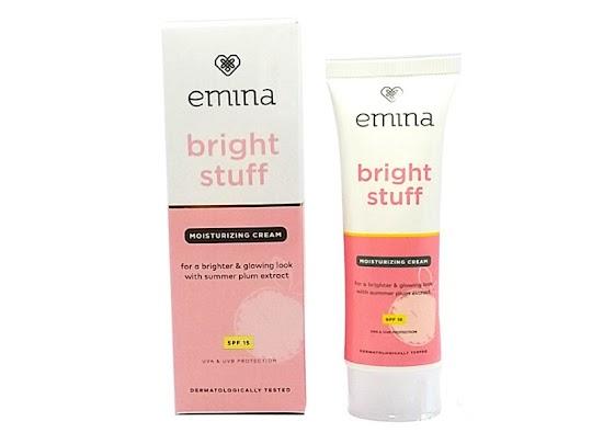 Bright Stuff Moisturizing Cream EMINA pelembab kulit krim melembabkan wajah glowing mencerahkan