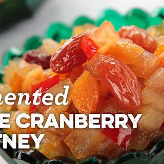 Fermented Apple Cranberry Chutney