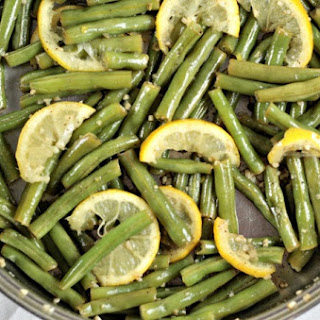 Garlic Lemon Fresh Green Beans Recipe