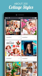Collage+ picmix, slideshow with music, album maker Screenshot
