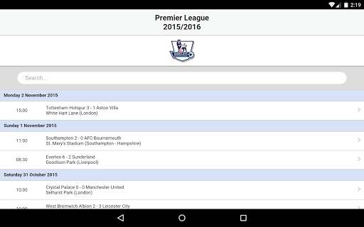 Football Live Scores 3.8 screenshots 21