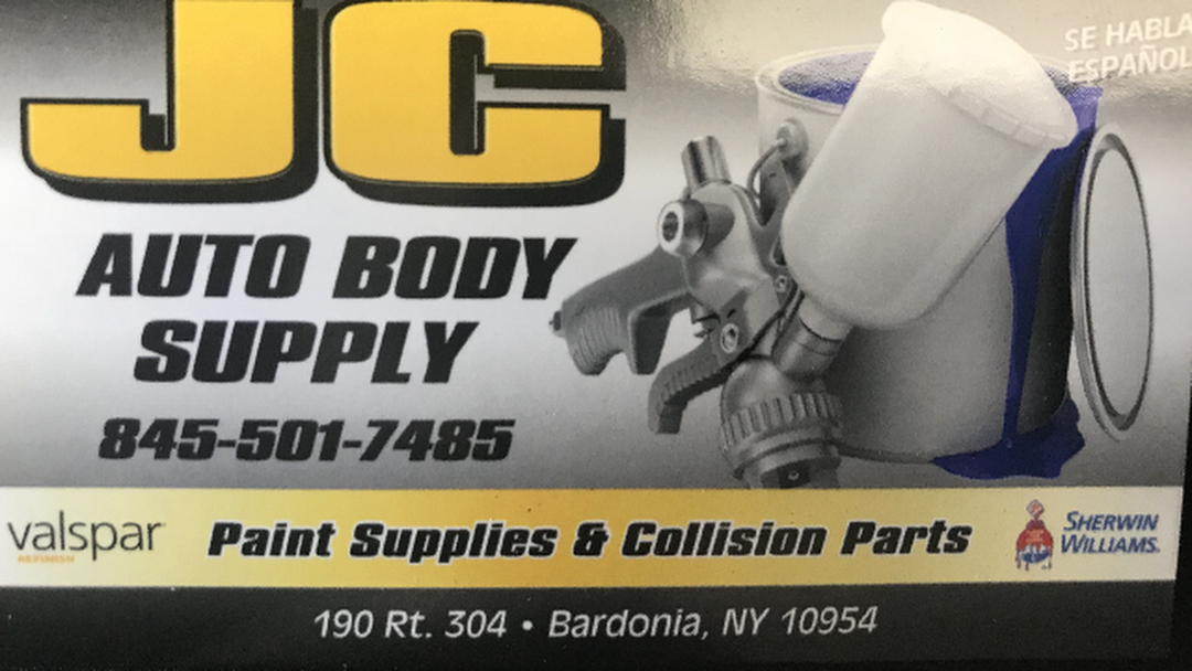 Jc Auto Body Paint Supply Auto Body Parts Supplier In Nanuet