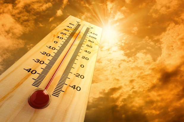 Vredendal on the west coast will' for a second day running' be the hottest town in the country' sizzling at a blistering 44˚C.