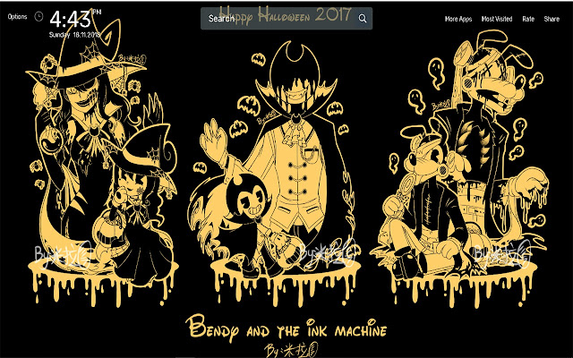 Bendy And The Ink Machine Wallpapers Theme