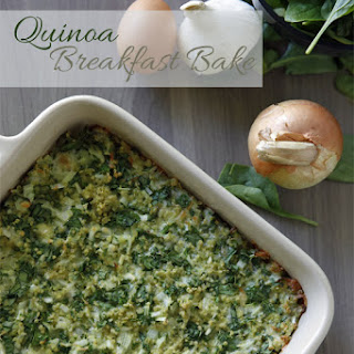 Quinoa Breakfast Bake