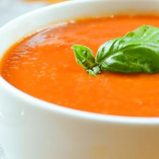 Crockpot Tomato Soup.