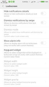 MIUI tweaking Xposed module v0.1.8 Unlocked