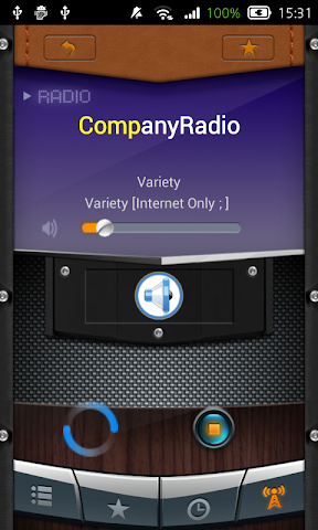 android Radio Slovak Republic Screenshot 1