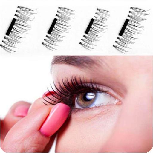 Step-by-Step False Eyelash Extension