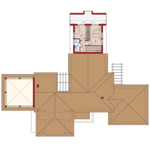Dionizy G3 - Rzut piętra