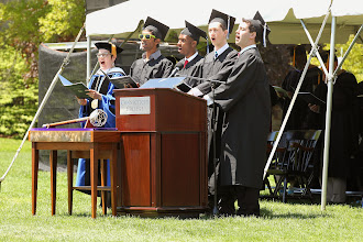 Photo: NEW LONDON, CT Connecticut College Commencement Cerermony.