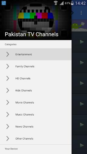 TV Pakistan All Channels