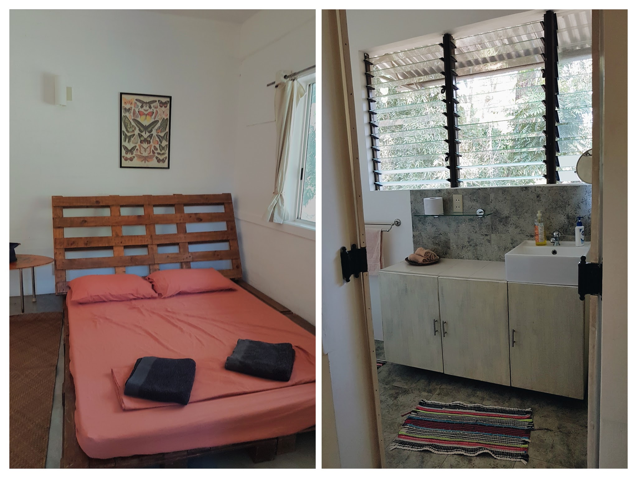 Airbnb Review: Subic Rainforest Retreat - One room has its own toilet and bath | www.wearejuanderers.com