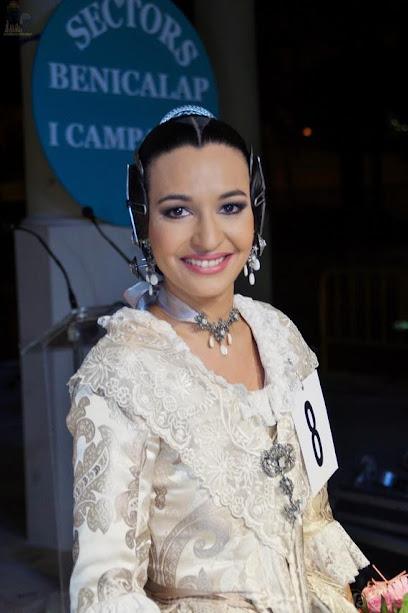 Azahara Vallet Sánchez. Corte de Honor 2019. Pere Cabanes - Joan XXIII