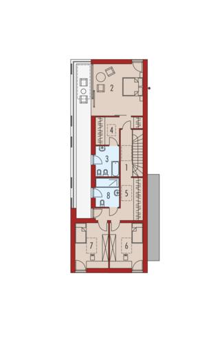 EX 17 W2 Energo Plus - Rzut piętra