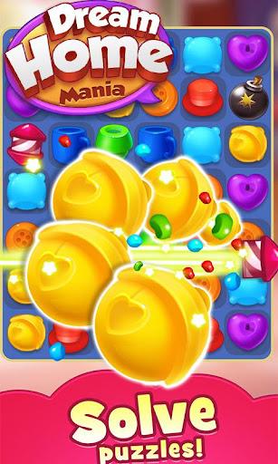 Dream Home Mania - Free Match 3 puzzle game 1.0.4 screenshots 1