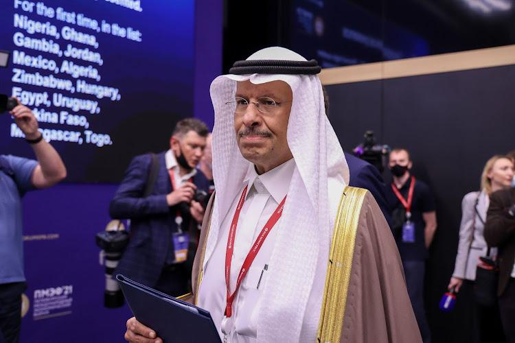 Abdulaziz bin Salman in June 2021. Picture: ANDREY RUDAKOV/BLOOMBERG