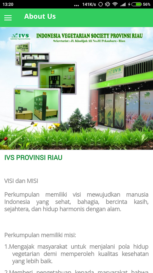 IVS Provinsi Riau- screenshot
