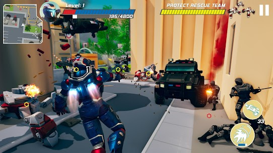 Iron Avenger – Infinite Warfare RPG Apk  Download For Android 5