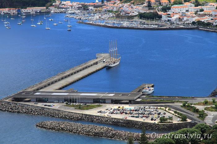 Пассажирский порт Орта, остров Фаял