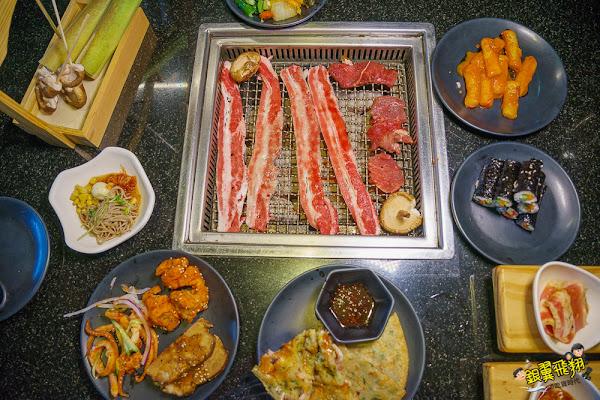 東大門韓式燒烤暢食料理館-烤肉餓棍韓式六味燒烤美味多樣韓食選擇讓你大快朵頤!